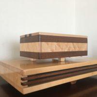 ウォールナットメイプル50弁シリンダー楽器オルゴールEMIタイプ